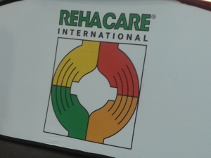 Foto: Logo der REHACARE International