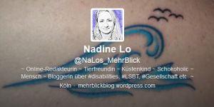 Foto: Screenshot des Twitteraccounts von NaLos_MehrBlick