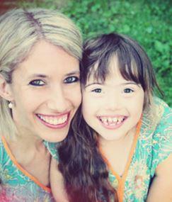 Foto: Conny Wenk mit Tochter Juliana