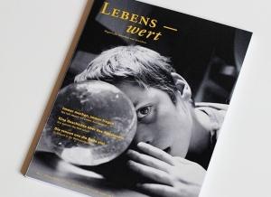 "Foto: Titelbild des Magazins ""Lebenswert"""
