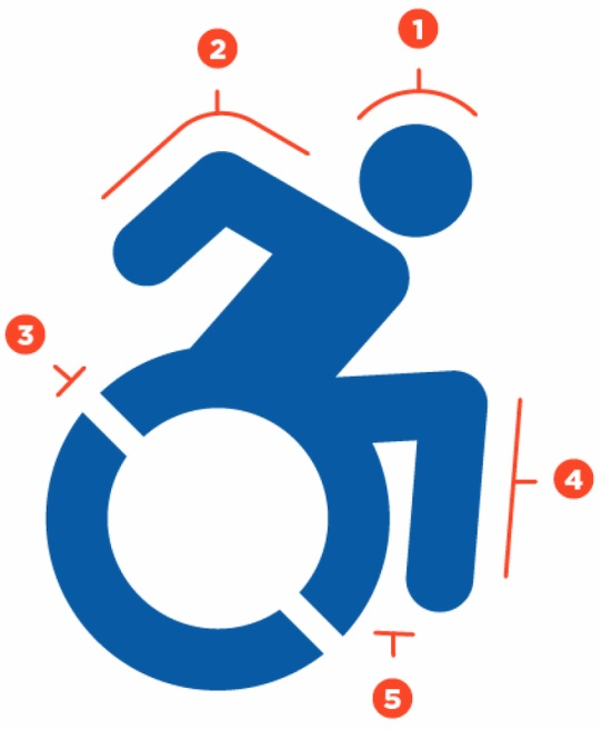 Foto: Neu gestaltetes Symbol des Accessible Icon Projects