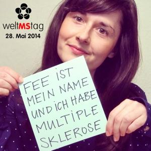 Foto: Fee ist mein Name und ich habe Multiple Sklerose