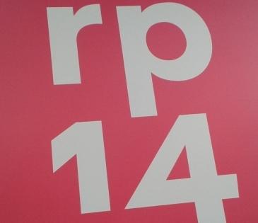 Foto: Logo der re:publica 2014: rp14