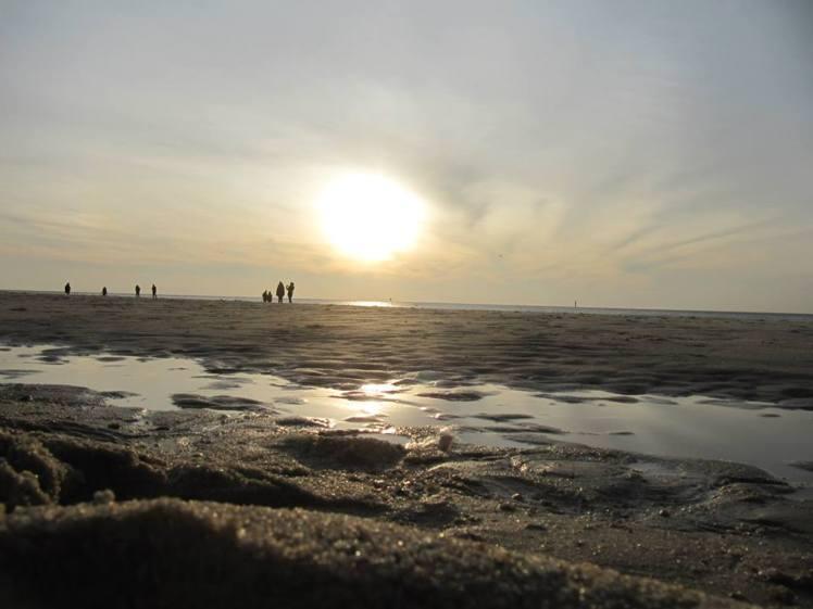 Foto: Abendstimmung am Strand