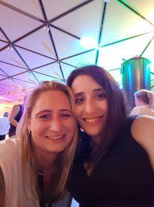 Foto: Selfie mit Sima Surkamp